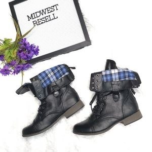 Forever Combat Boots -11